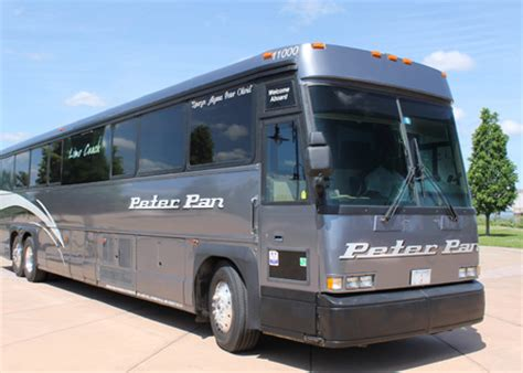 comfort bus rental vip charter bus rental from peter pan bus peter pan
