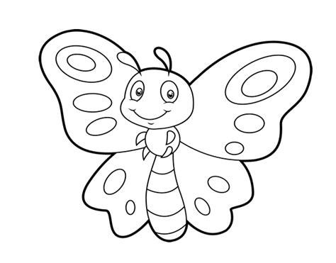 dibujo de mariposa pintar im genes dibujo de mariposa fantas 237 a para colorear dibujos net