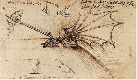 macchine volanti di leonardo da vinci leonardo inventore il portale dei bambini