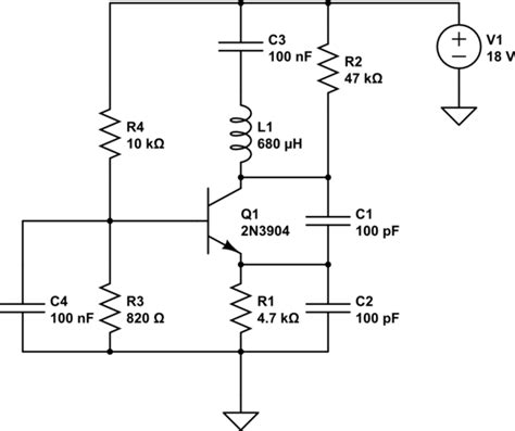 colpitts oscillator capacitor values colpitts oscillator extract signal with emitter follower electrical engineering stack exchange