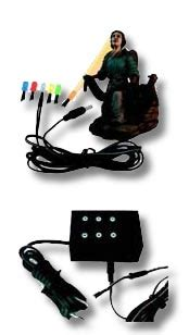 luces de colores ibid wood artesania mariscal