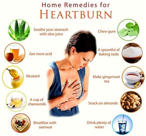 acid reflux treatment cures and home remedies