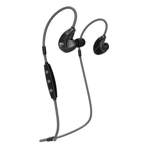 Meelectronics Sport Fi Stereo Bluetooth Wireless Sports In Ear Earphones With Memory Wire X6 meelectronics sport fi x7 stereo blutooth in ear hd ep x7 bk mee