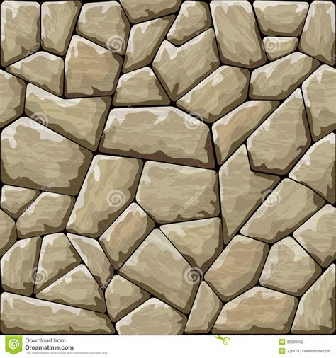 rock pattern drawing stone seamless pattern stock vector illustration of clay