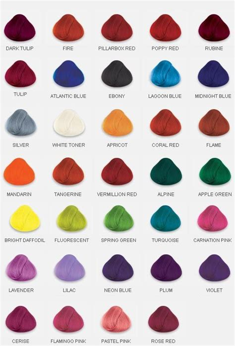 colors hair dye 25 best ideas about hair dye colors on