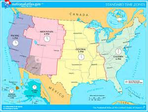 usa time zones cst what are the time zones in the united states