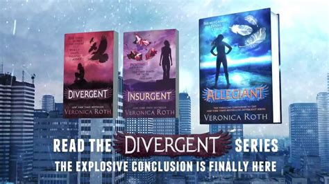 allegiant book report allegiant by roth official book trailer