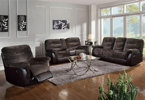 Brown Reclining Sectional Sofa Coaster 601081 Brown Fabric Reclining Sofa A Sofa Furniture Outlet Los Angeles Ca