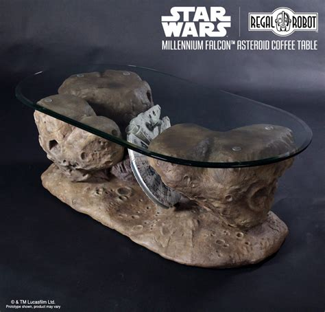 Cat Glass Table Millennium Falcon Asteroid Coffee Table The Green Head