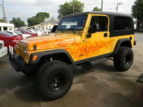 Jeep Custom Paint Sell Used 2006 Jeep Wrangler Unlimited 2d Custom Paint