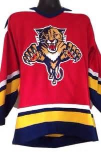 vintage 90s starter nhl florida panthers jersey medium