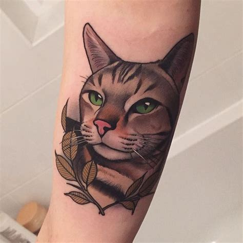 cute cat tattoos 45 cat designs and ideas spiritual luck