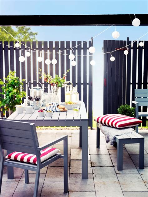 ikea outdoor ikea falster garten und terrasse pinterest gardens table and chairs and dining sets
