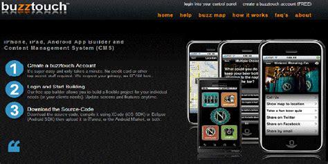 cara membuat aplikasi android online gratis cara mudah membuat aplikasi android dengan tool online