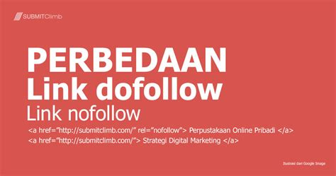 membuat link nofollow backlink archives submitclimb strategi pemasaran online