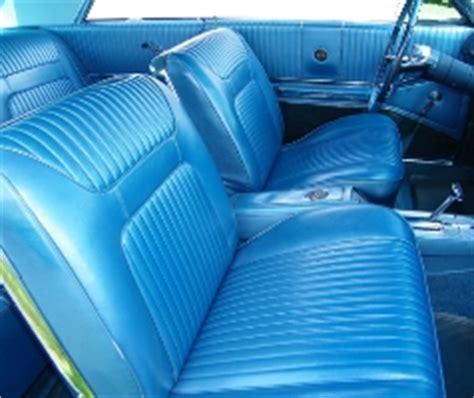 1964 chevy impala ss hardtop & convertible interior