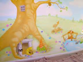 winnie the pooh mural e shepherd walltastic disney winnie the pooh wallpaper mural