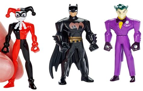 New Wig Harley Squad Justice League Joker mattel dc comics justice league harley quinn mini figure 3 pack batman joker new ebay