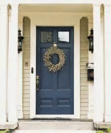 Dark blue front doors myideasbedroom com