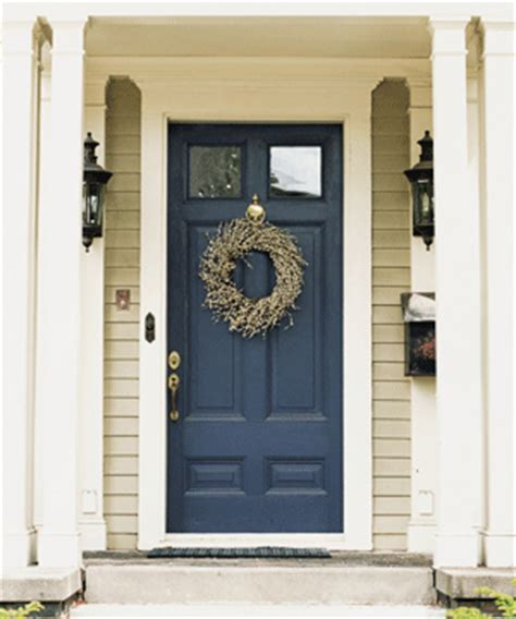 Blue Front Door Paint Back To New Colors Reflect Revitalization Theme Durability Design News