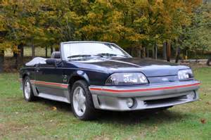 1988 ford mustang gt 5 0 h o convertible no reserve for