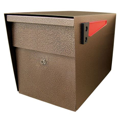 mail bronze mail curbside security locking