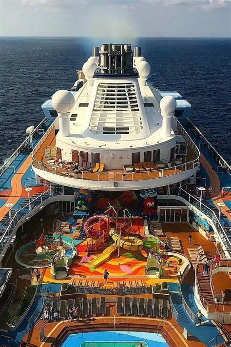 best deck on of the seas ovation of the seas adventure colorfully from land to