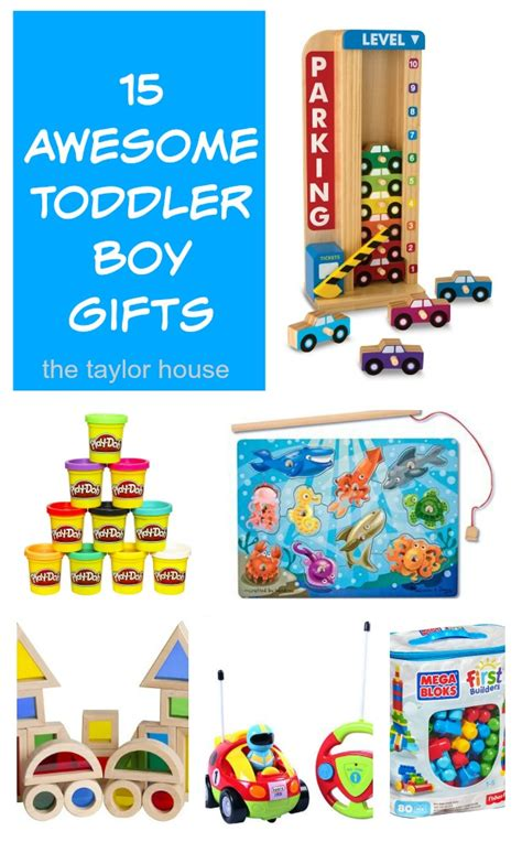 Boy Gift Ideas - 15 great gifts for toddler boys the house