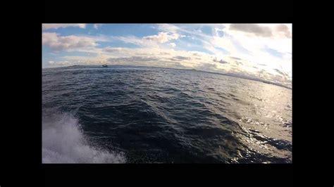 jet ski vs jet boat jet ski vs pilot boat wake gopro hd youtube