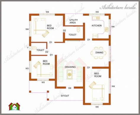 kerala house plans square feet arts sq ft in style also outstanding 1200 sq ft house plans modern 3d arts house