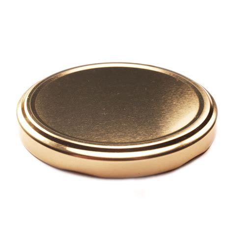 jar lids gold glass jar closure lid 82tw can company