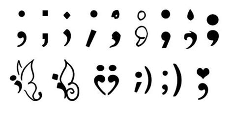 why the semicolon tattoo is more than a trend