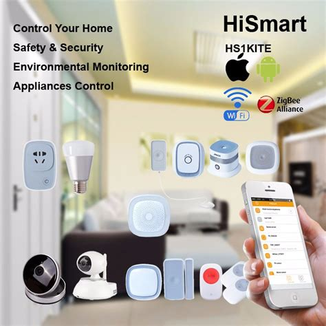 home automation h5 kit with ip security e27