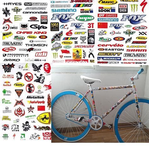Fahrrad Sticker by 3 Sheet Car Bicycle Cycling Sticker Mtb Bike Vouge