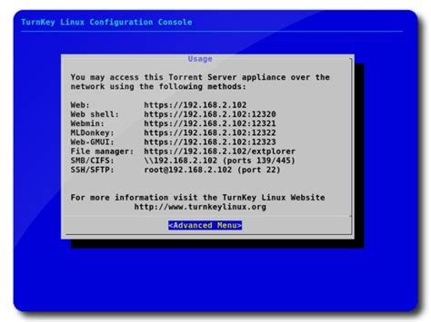 nat tutorial linux obsolete torrent server configuration tutorial turnkey