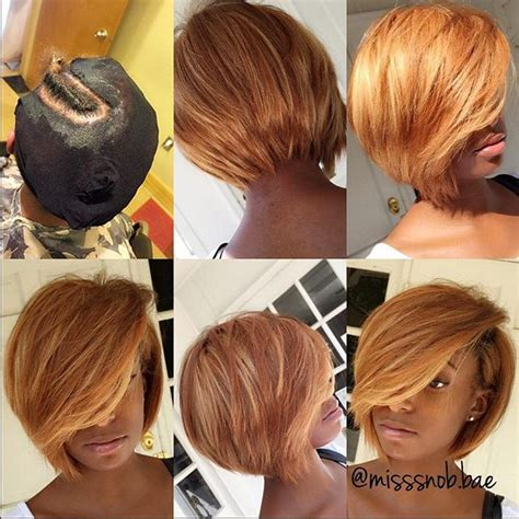 quick weave bobs blonde gallery short quick weave bob styles black hairstle