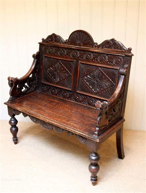 bench antique carved oak bench antiques atlas