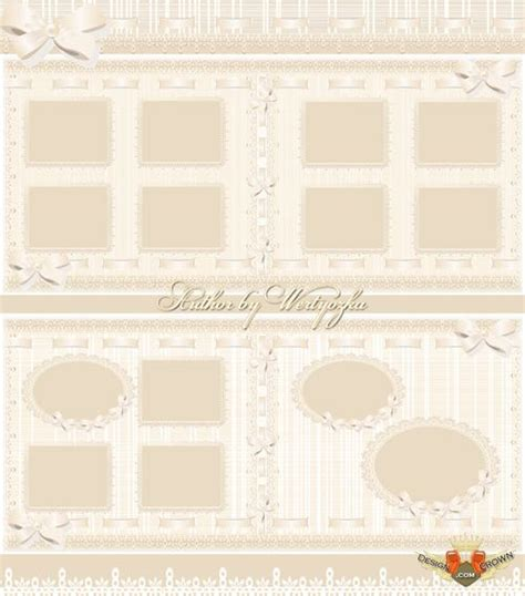 Wedding Album Borders by Vintage Wedding Borders For Pictures And Psd Album