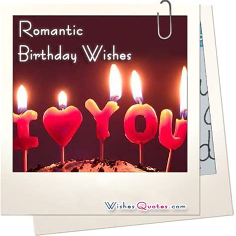 Birthday Quotes For Him Romantic Birthday Quotes For Him Quotesgram