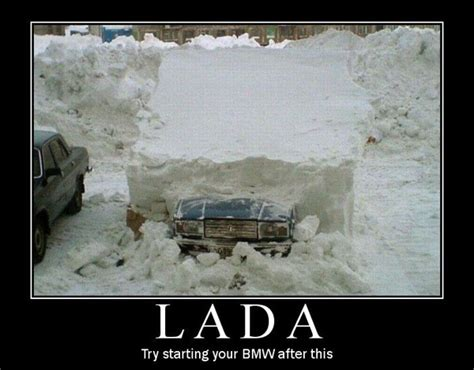 Lada Jokes Lada Try Starting Your Bmw After This Car Humor