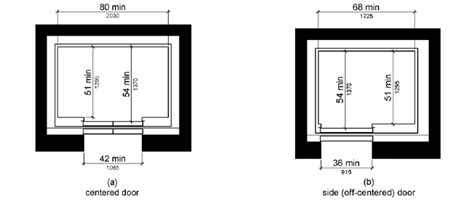 elevator floor plan symbol 407 elevators ada compliance ada compliance