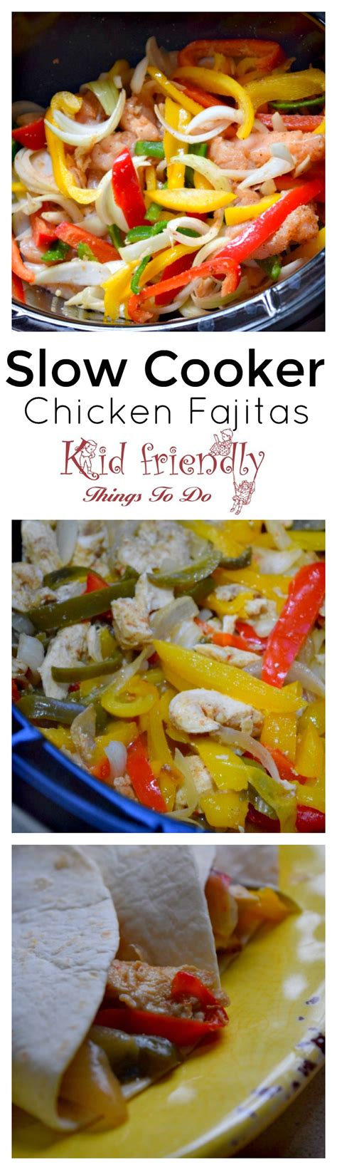 40 easy slow cooker recipes for busy nights best crock easy and delicious slow cooker chicken fajitas recipe