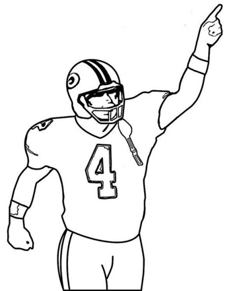 football guy coloring page nfl football player running clipart panda free clipart