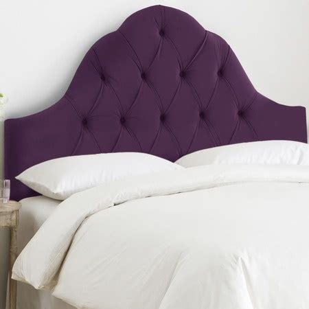 Purple Fabric Headboard by Pretty Purple Fabric Headboard Purple