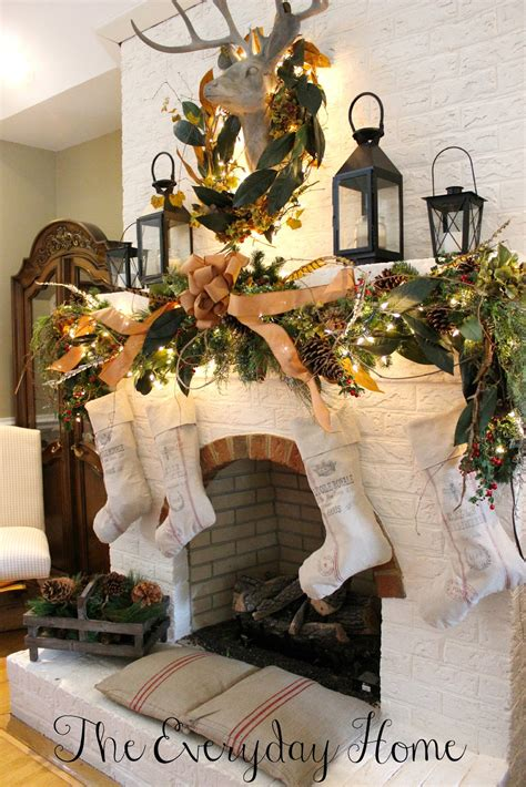 style at home christmas decorating ideas 50 absolutely fabulous christmas mantel decorating ideas