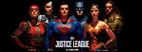 justice league en film justice league superman posters reveal the full team
