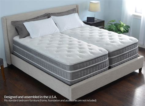 california king sleep number bed 15 quot personal comfort a10 bed vs number bed i10 split cal