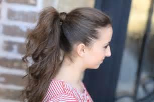 Cute girls hairstyles ponytail newhairstylesformen2014 com