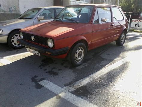 Ad Vw Golf Mk1 1300 Jgl 81 For Sale Ohrid Debarca