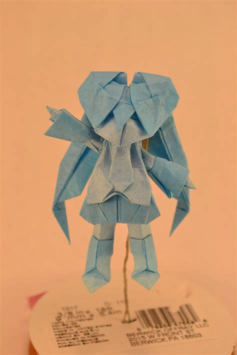 origami characters 25 japanese anime characters in origami form